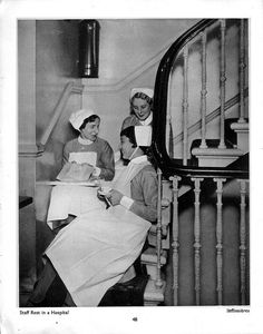 """""""Staff Rest In Hospital"""" by Bill Brandt from his book """"The English At Home"""" (1936)"""
