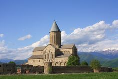 16th Century Cathedral at St George's Alaverdi, Kakheti Region