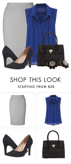 """""""Teacher Attire: Outfit 47"""" by vanessa-bohlmann ❤ liked on Polyvore featuring John Lewis, Franco Sarto and Kate Spade"""