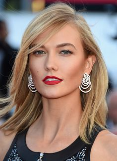 Karlie Kloss attends the 'Youth' Premiere during the 68th annual Cannes Film Festival on May 20, 2015 in Cannes, France.