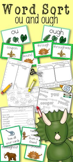 Word Sort Abbreviations Mr Putter And Tabby Fly The Plane Grade 2
