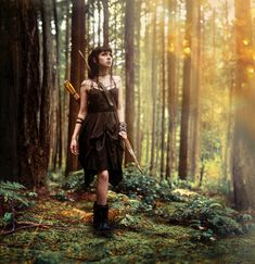 Forest Elf with bow