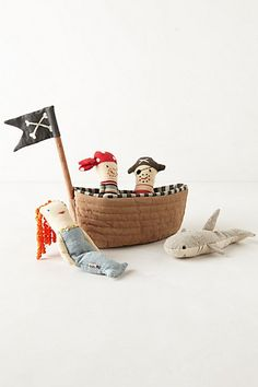 Pirate Ship Rattles #anthropologie