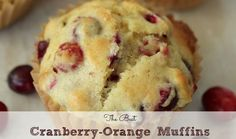 Everyone gets so caught up with pumpkin-flavored things in the Fall, but cranberries are really awesome on their own! These orange cranberry muffins and simply delicious (and freezer friendly!)