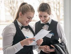 Girls Dressed In Formal Uniforms With Black Bow Ties | Flickr