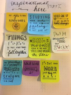 diaryofastudent: Some of the motivation/inspirational quotes that I can place around my bullet journal throughout the year. I'm pretty pleased with how all of them turned out. Was inspired by @mlstudies version.