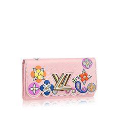 """[ブランド名] Louis Vuitton 1854年、ルイ・ヴィトンがパリにて開業。LとVと花と星を組み合わせた模様を考案したのは2代目のジョルジョ・ヴィトンが1896年に。もともとモノグラムはコピー商品の流出を防ぐことを目的として考えられた。世界発の旅行鞄専門店として出発し、1998年から衣服にも参入し世界の人気ブランドに。服作りのコンセプトは、""""機能的""""かつ""""実用的""""。 """"Twist Wallet Epi Leather ポルトフォイユ・ツイスト エピ"""" クリスマスギフトにぴったり!! ポップアートから着想を得た、1960年代を彷彿させる財布「ポルトフォイユ・ツイスト」。エピ・レザーとルイ・ヴィトンのシグネチャーであるカラフルなモノグラム・フラワーの組み合わせが、フレッシュな魅力を放つスタイリッシュなアイテムです。 −サイズ(幅x高さxまち): 19.5 x 10.5 x 2.5 cm −素材:エピ・レザー(皮革の種類:牛革) −ライニング:レザー(皮革の種類:牛革) −金具(ゴールド) −クレジットカー..."""
