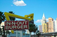 The 11 Best Burger Joints in Las Vegas: In-N-Out Burger Las Vegas - Is This The Best