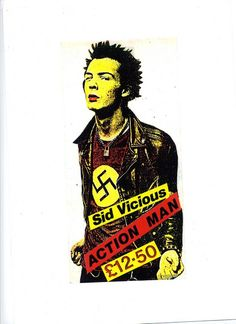 JAMIE REID: Sid Vicious – Action Man