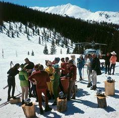 designRlife: Après-ski: Part I - Slim Aarons snowmass picnic !