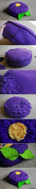 yastık yapımı-pillow construction