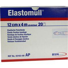ELASTOMULL 12 cmx4 m 2103 elastisch Fixierb:   Packungsinhalt: 20 St Binden PZN: 03486227 Hersteller: BSN medical GmbH Preis: 27,52 EUR…