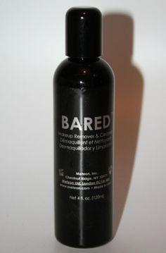 BARED deep clean makeup remover gentle skin care for dark face body paint TV FX  #Mehron