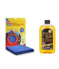 Oneline Store: ABRO Premium Gold Car Wash CW-990-16 (472 ml)+Micr...