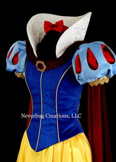 This is a custom, professionally sewn costume. All seams are finished by serging and straight stitched for strength and a professional finish. Disney Princess Dresses, Princess Ball Gowns, Disney Dresses, Doll Dress Patterns, Skirt Patterns Sewing, Disney Cosplay, Robes Disney, Costume Blanc, Wedding Dresses For Kids