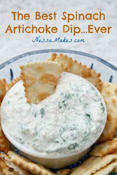 The Best Spinach Artichoke Recipe..Ever!