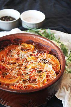 Rustic Ratatouille l #vegetarian #wholefood #lchf #lowcarb # ...