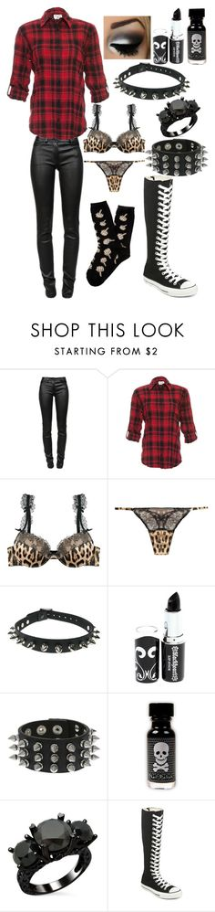 """Good morning Polyvore :)"" by ofmiceandvampiraydg ❤ liked on Polyvore featuring T By Alexander Wang, Alice + Olivia, Roberto Cavalli, Converse and UNIF"