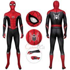 Spider-Man Costume Spider-Man: Far From Home Cosplay Peter Parker Full Set Magneto Costume, Hawkeye Costume, Deadpool Costume, Captain Marvel Costume, Spiderman Costume, Marvel Costumes, Marvel Cosplay, Miles Morales Costume, Parker Men