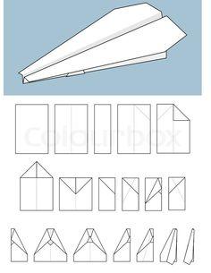 Billedresultat for papirflyver