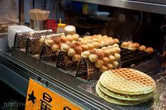 egg waffle ball!