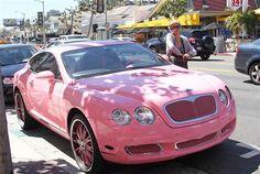 Pink Bentley :)