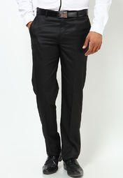 Buy Wills Lifestyle Men Formal Trousers Online in India. Huge Selection of branded formal trousers online shopping in India