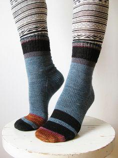 Ravelry: mustaavillaa's Leftover socks