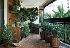 Garden balcony-design