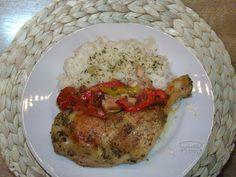 Recepty   Kuře s majoránkou Grains, Pork, Rice, Meat, Kale Stir Fry, Seeds, Pork Chops, Laughter, Jim Rice