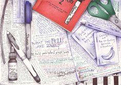 andrea joseph's sketchblog: March 2012