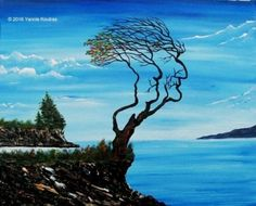 """""""Acrylic on Canvas"""" Code: Tree of Life My YouTube Channel:  https://www.youtube.com/user/KoutrasArt"""