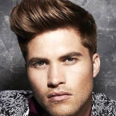 Mens hairstyles on Pinterest Mens Pompadour, Faux Hawk and ...