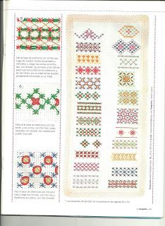 Résultats de recherche d'images pour « bordado español paso a paso Hand Embroidery Stitches, Embroidery Techniques, Ribbon Embroidery, Cross Stitch Embroidery, Embroidery Patterns, Chicken Scratch Patterns, Chicken Scratch Embroidery, Swedish Embroidery, Cute Sewing Projects