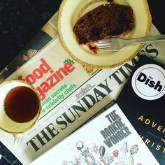 Hello Sunday....  @sundaytimes #sundaytimes #sunday #weekend #weekendmornings #newspaper #coffee #cake #perfect