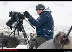 Nature Documentary Bomb    It's cool, he's the new boom mic operator.