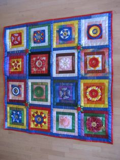 Things to do with old FFA and 4-H ribbons...this makes me want to retrieve them from the scrapbooks and take up quilting!