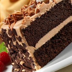 A Sweet and delicious recipe for chocolate cake with creamy caramel frosting.. Chocolate Cake With Caramel Frosting Recipe from Grandmothers Kitchen.