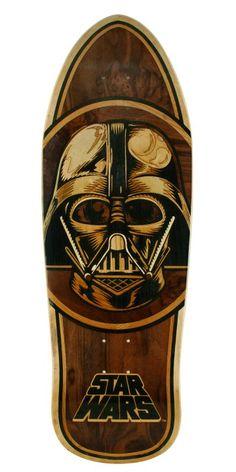 Santa Cruz Star Wars Darth Vader Inlay Deck Bottom