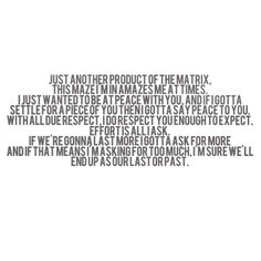 The War - By Wale - More About Nothing album - lyrics for quotes.