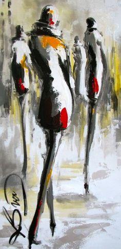 'Moon' - by Marie-France Boisvert (Canadian, b. 1964)
