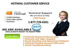 Hotmail Customer Service  1-877-776-6261: Last Chance to Eradicate Your Hiccups  Make a call on Hotmail Customer Service  Number 1-877-776-6261 toll free number. This is toll free number now you can solve all issue to connect with our hotmail experts on this support number 24*7. For more details log in to our website http://www.monktech.net/hotmail-tech-support-phone-number.html