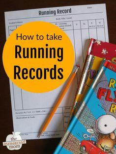 If you'd like to know how to do running records, this post is for you! You'll also get a cheat sheet with a list of running record code - plus get a link to a free running record template. These are great to use in preschool, kindergarten, and up! #runningrecords #kindergarten #firstgrade