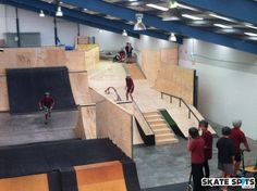 Skate Park, Layout, Indoor, Playgrounds, Interior, Sport, Deporte, Page Layout, Design Interiors