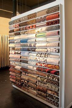 Stark Home LA Showroom, home to designer fabrics, wallcoverings, carpets, and rugs. #StarkTouch #InteriorDesign #DesignInspiration