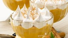 Dessert Recipes, Desserts, Dessert Ideas, Spanish Food, Punch Bowls, Mashed Potatoes, Thanksgiving, Pudding, Cupcakes