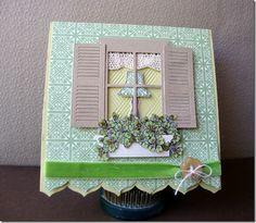 Window Box card with Window Box and Shutters