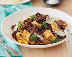 Recipe   Beef Shin Ragu with Fresh Pappardelle