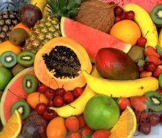 Una macedonia di frutta ricca di potassio...