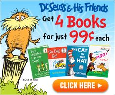 Get 4 #Disney or Dr. Suess Books for only $0.99 each PLUS a Fun Organizer #FREE!